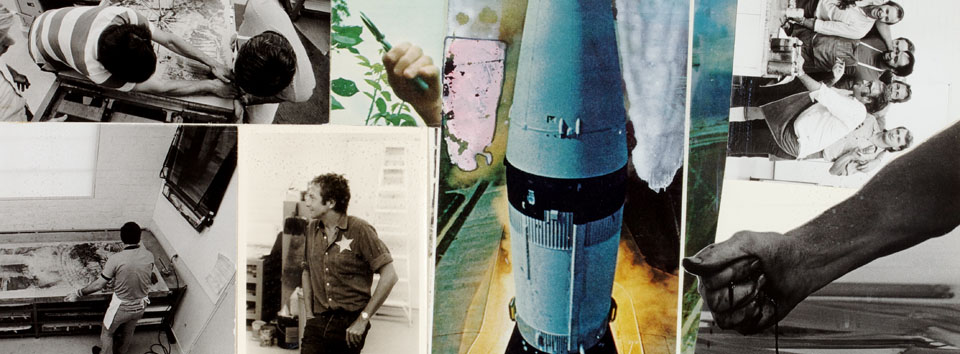 """Loose in Some Real Tropics: Robert Rauschenberg's """"Stoned Moon"""" Projects, 1969–70"""