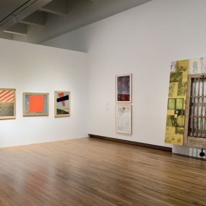 Rauschenberg Collecting And Connecting Installation